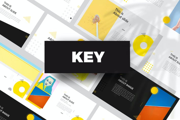 Thumbnail for Yellow Creative Keynote