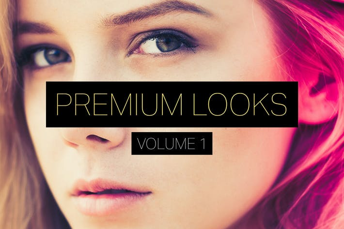 Premium Looks Lightroom Presets (Vol. 1)
