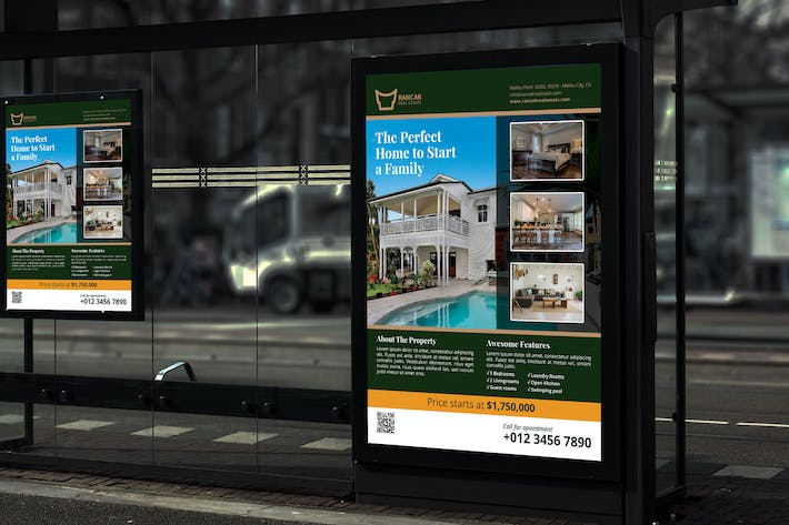 Cover Image For Rancak Real Estate - Promotion Poster RB