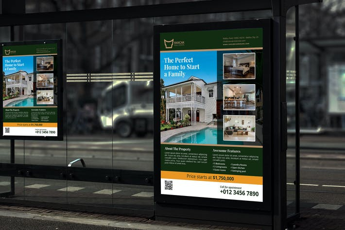 Thumbnail for Rancak Real Estate - Promotion Poster RB