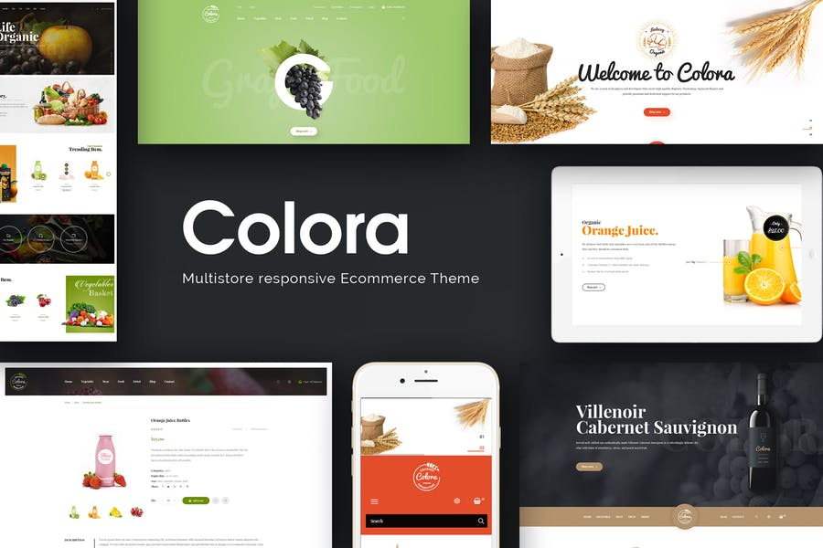 Colora - Organic Responsive Prestashop 1.7 Theme