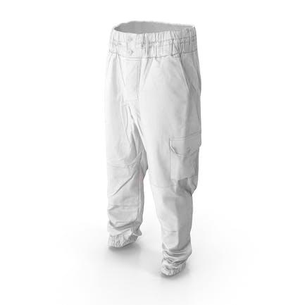Weiße Militärhosen