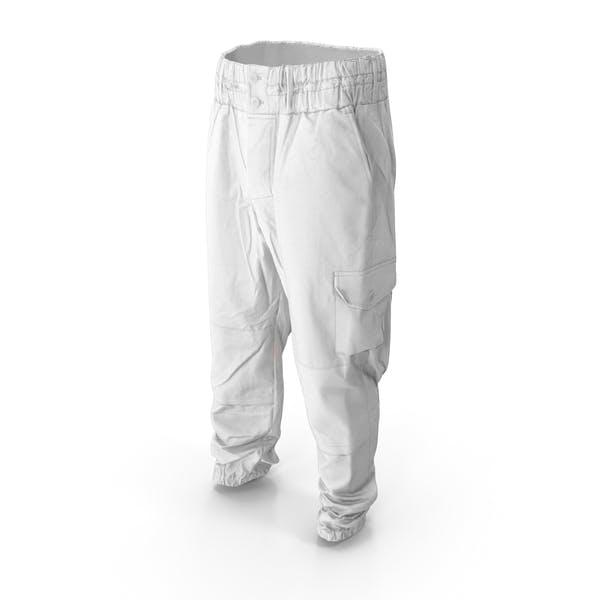 Военные белые штаны