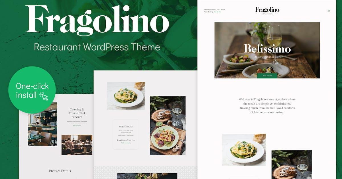 Download Fragolino - Exquisite Restaurant WordPress Theme by cmsmasters