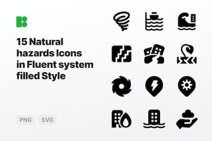 Fluent system filled - Natural hazards