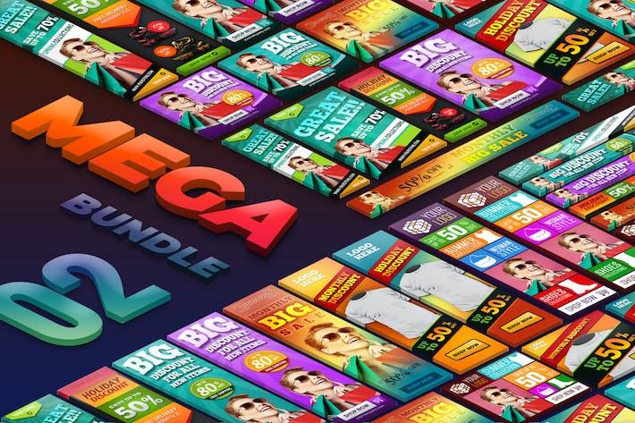 Thumbnail for Sale Discount Mega Bundle Banner Ads