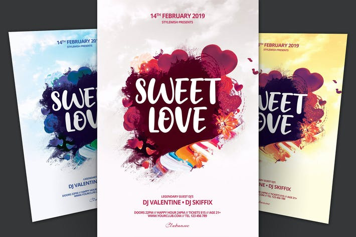 Thumbnail for Sweet Love Flyer