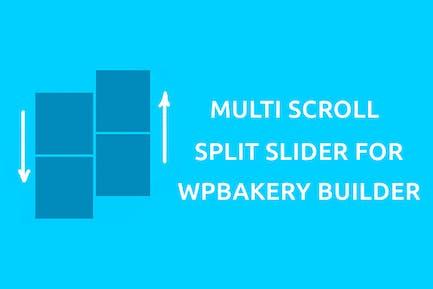 Multi Scroll - Split Slider for WPBakery Builder