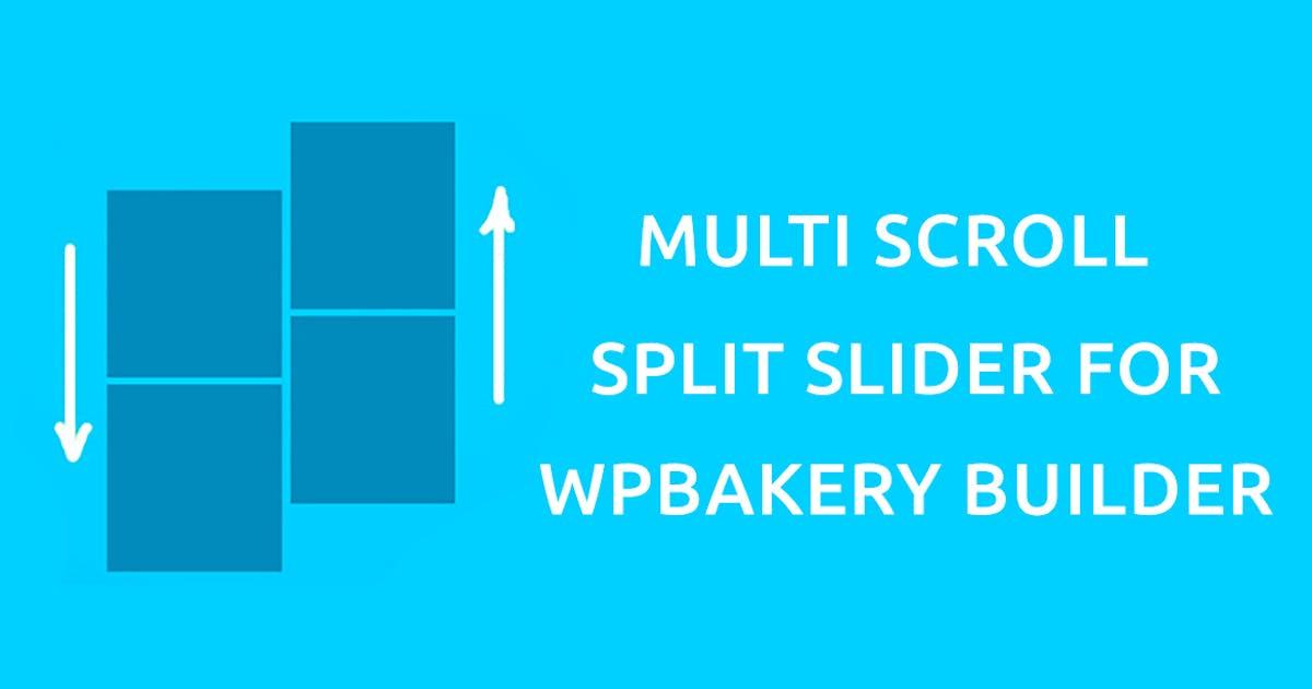 Download Multi Scroll - Split Slider for WPBakery Builder by Templines