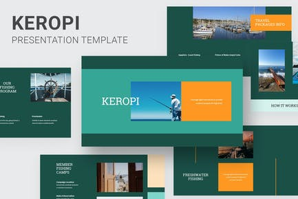 Keropi - Fishing Club Powerpoint
