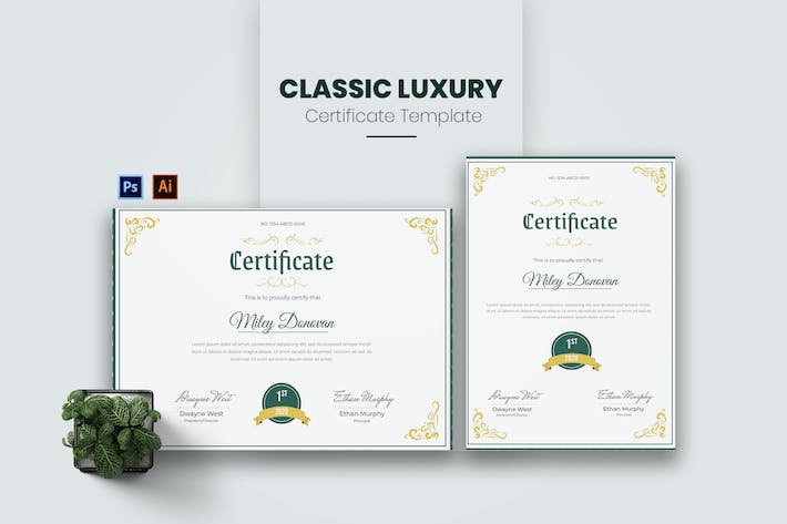 Thumbnail for Classic Luxury Certificate
