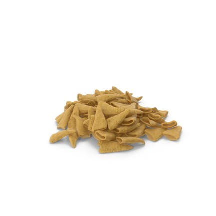 Pile of Cone Shaped Corn Snacks