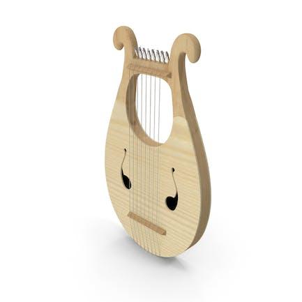 Griechische Leier Harfe 8 Saiten