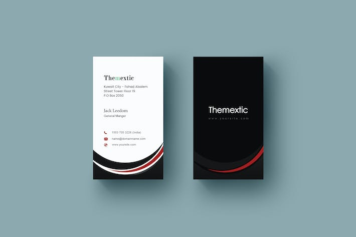 Thumbnail for Themextic - Business Card Template 5