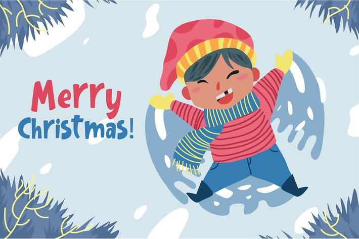 Thumbnail for Merry Christmas - Vector Illustration