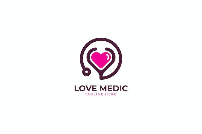 Love Medic Logo Template