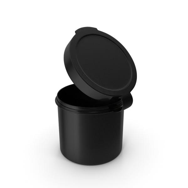 Таблетки Pod шарнир Топ 1 унция открыть черный