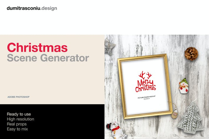 Thumbnail for Christmas Scene Generator
