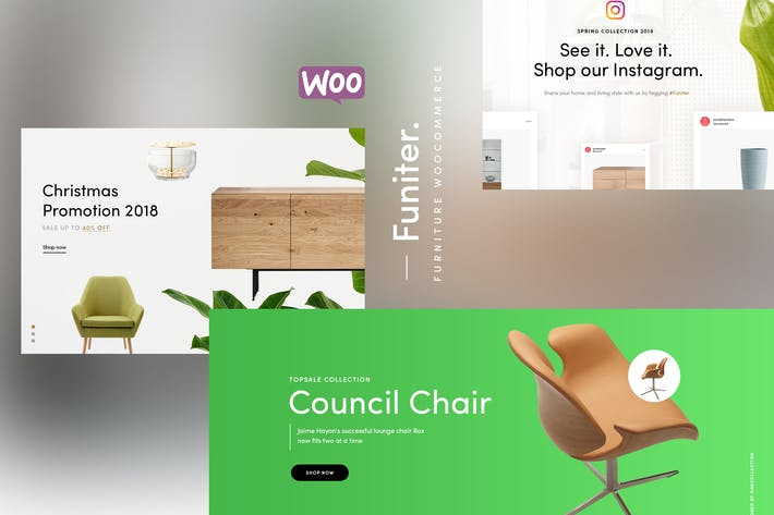 Thumbnail for Funiter - Elegant furniture shop for WooCommerce