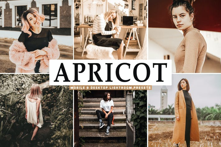 Thumbnail for Apricot Mobile & Desktop Lightroom Presets
