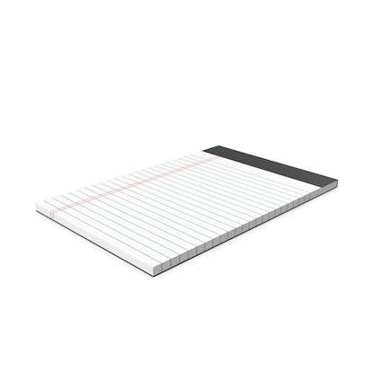 White Legal Pad