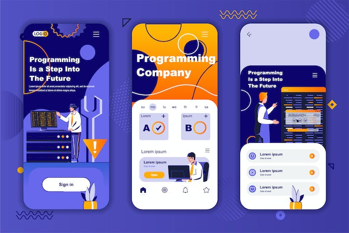 Thumbnail for Programming Instagram Stories Onboarding Screens