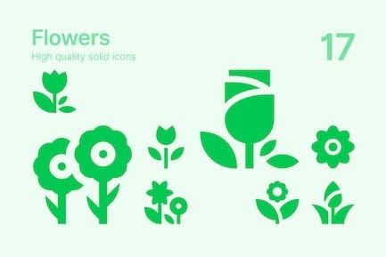 Íconos Flores