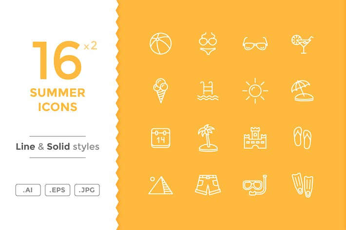 Thumbnail for Summer Icons
