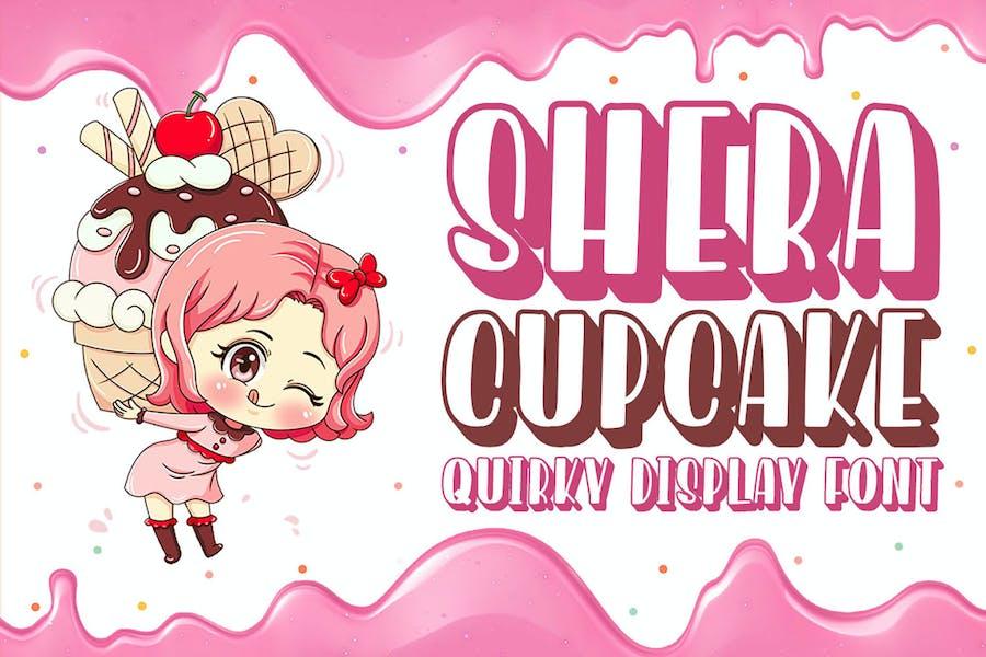 Shera Cupcake - Playful Display Font