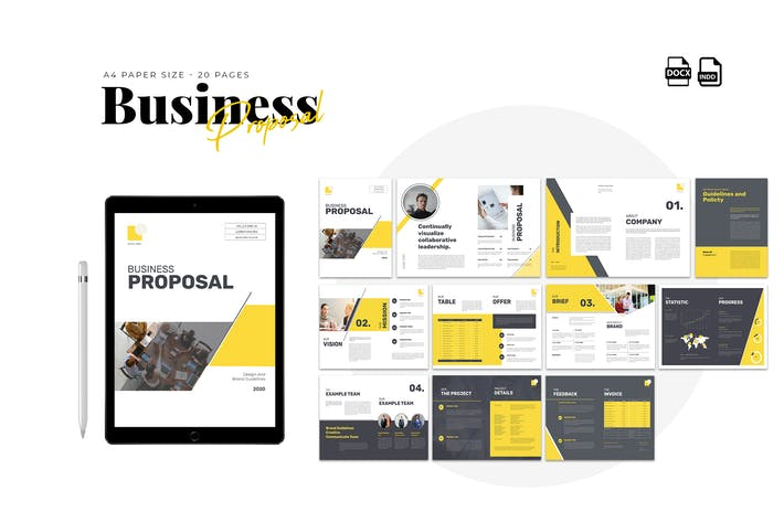 Thumbnail for Proposal Template