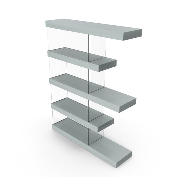 Bookshelf Grey