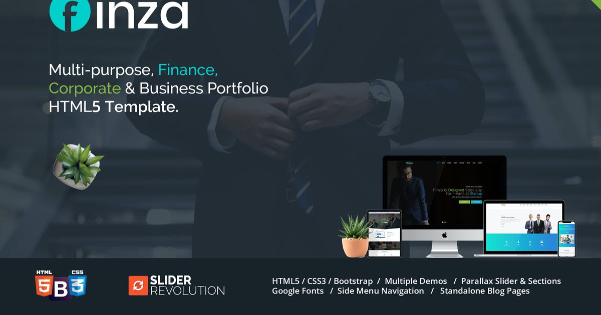 Download Finza - Corporate Business HTML5 by themesindustry