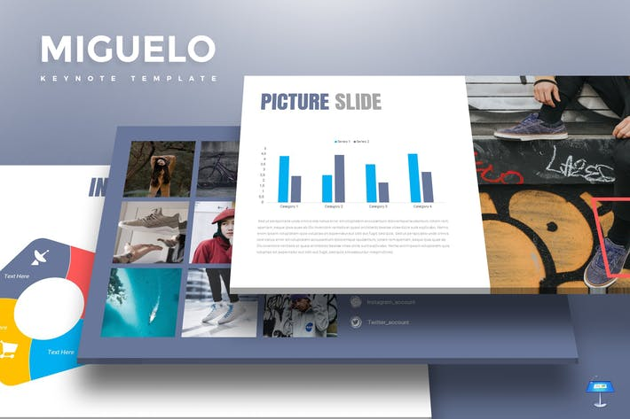 Cover Image For Miguelo - Keynote Template