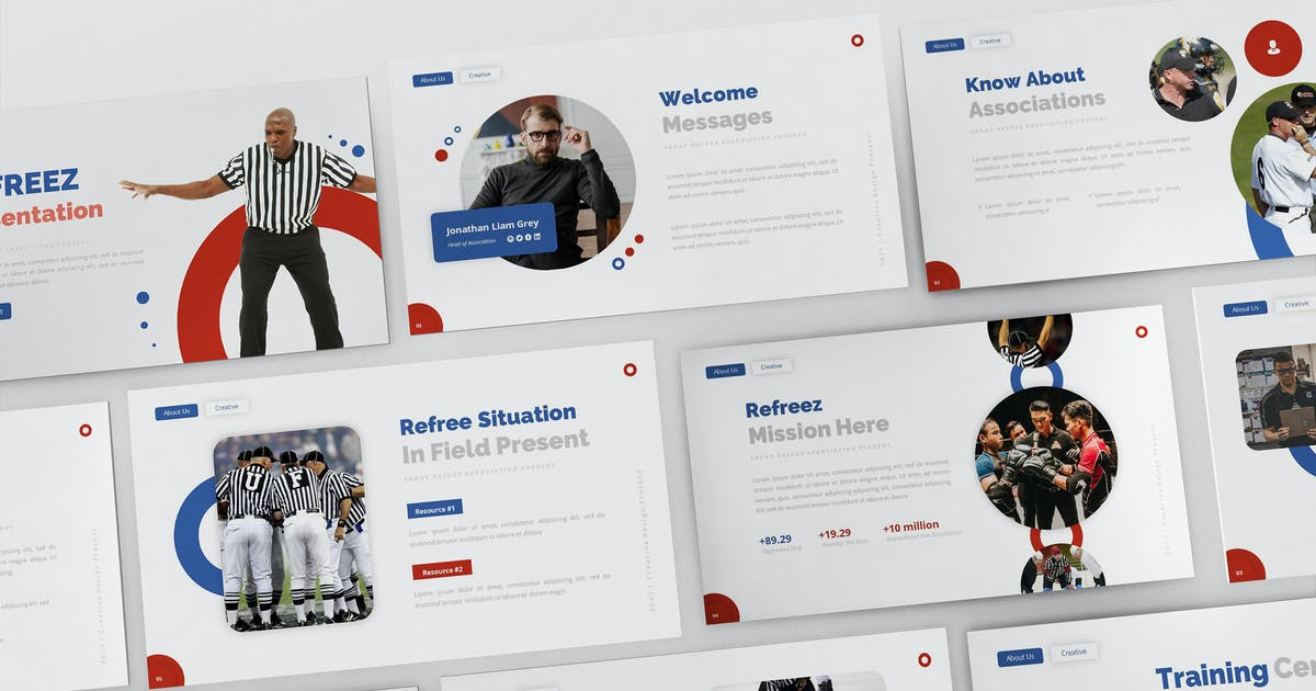 Download Refreez Powerpoint Presentation Template by Formatika