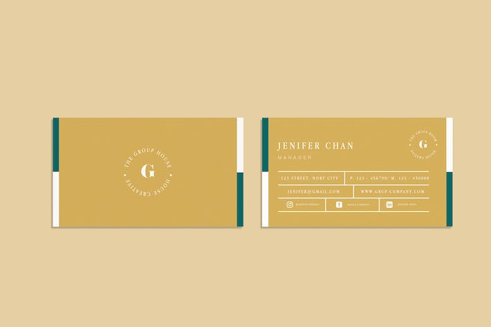 Thumbnail for Group Business Card