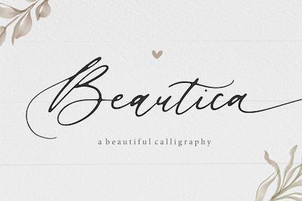 Beautica Script Font YH
