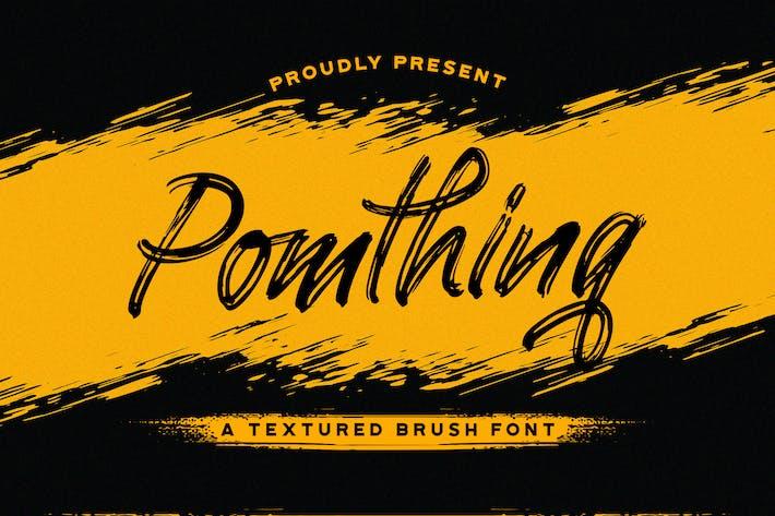 Thumbnail for Pomthinq - Police de script Pinceau