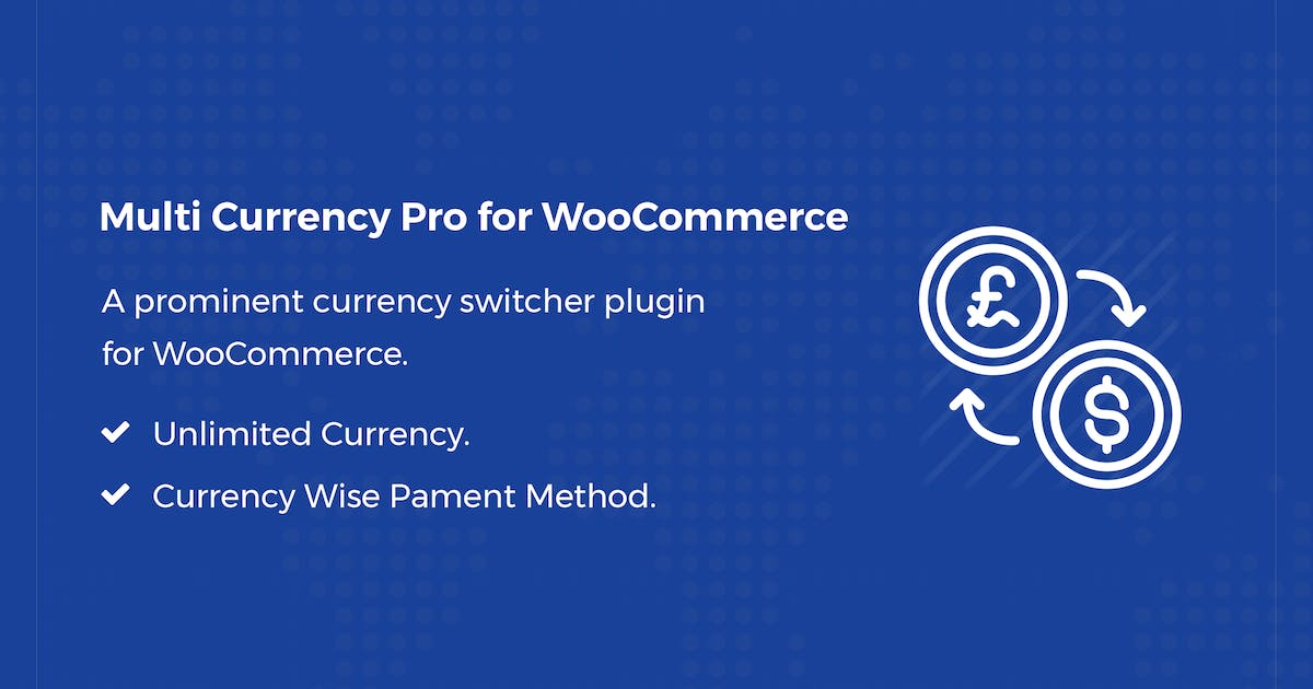 Download Multi Currency Pro for WooCommerce by codecarnival
