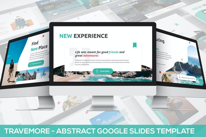 Thumbnail for Travemore - Abstract Google Slides Template