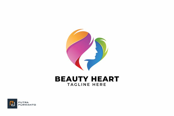 Thumbnail for Beauty Heart - Logo Template