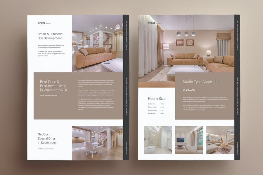 Real Estate Property Promo Flyer
