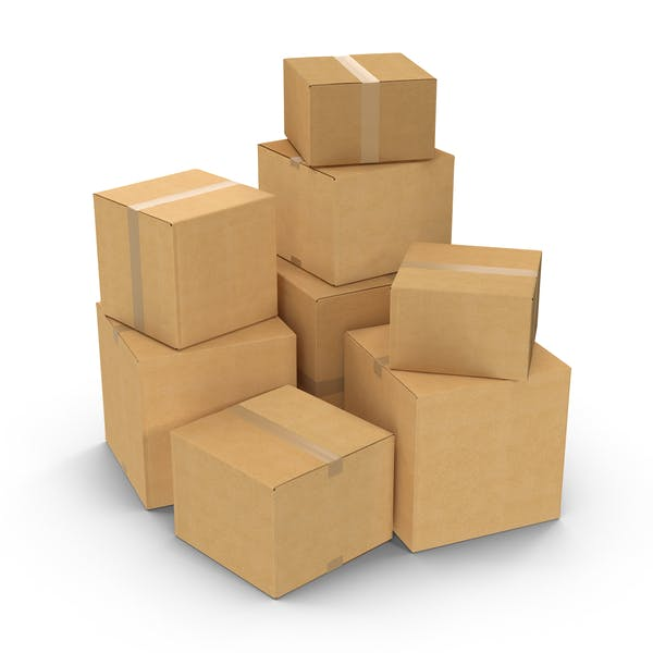 Cover Image for Cardboard Box Pile