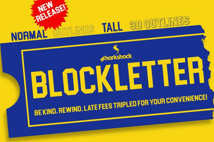 Thumbnail for Blockletter