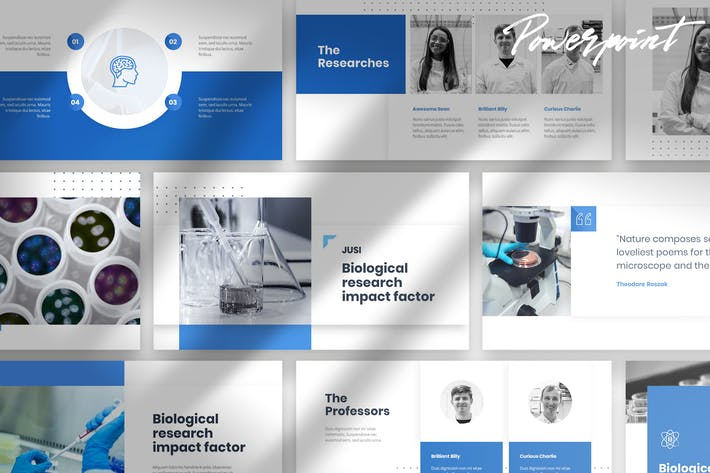 Thumbnail for Jusi - Medical Powerpoint Template