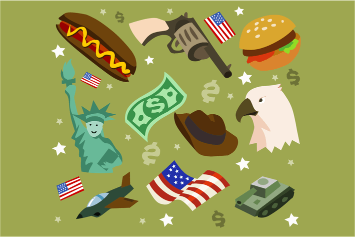 Thumbnail for America set flat