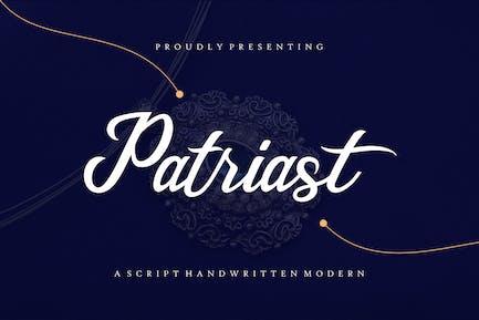 Patriast - Elegant Handwritten Signature