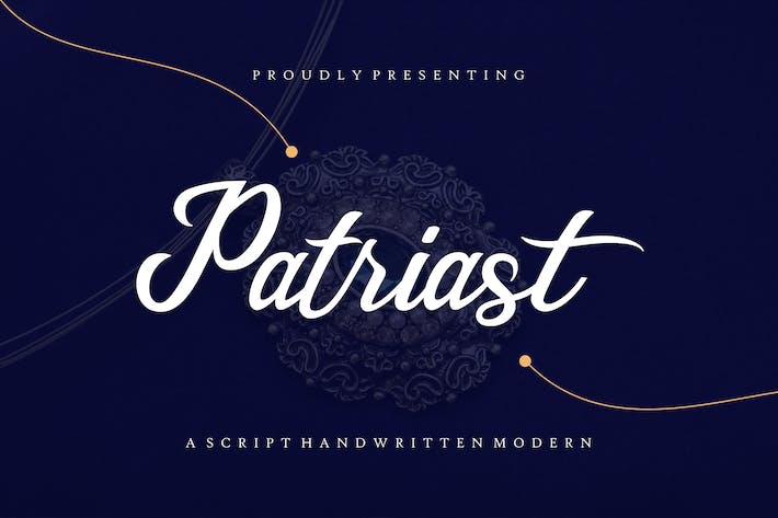 Thumbnail for Patriast - Elegant Handwritten Signature