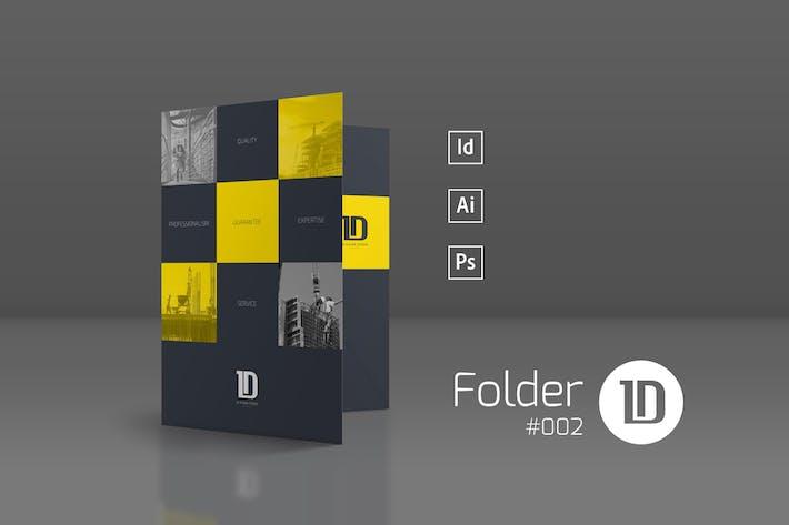 Thumbnail for Presentation Folder Template 002