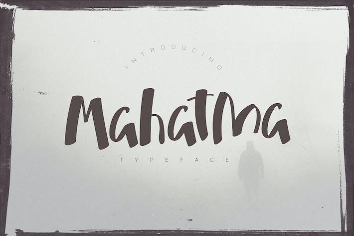 Thumbnail for Mahatma Typeface