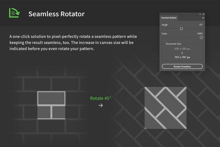 Seamless Rotator